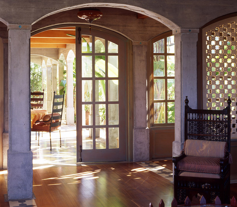 Wine Country Estate, Energy Mass Wall
